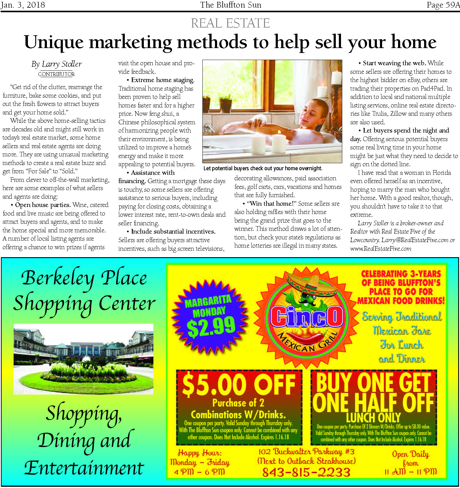 Bluffton Sun January 3 2018 The Voucher Outback Steakhouse 200000